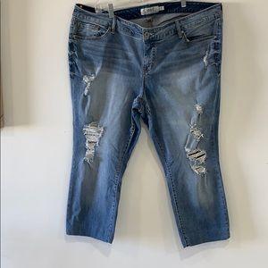Torrid Plus Size Jeans size 22 Hemmed for Petite!